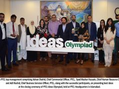 PTCL Ideas Olympiad Closing Ceremony Held