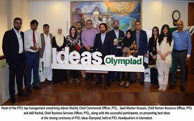 PTCL Ideas Olympiad Closing Ceremony Held