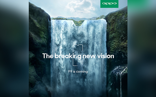 Upcoming OPPO F9 –Industry's First handset with a Water Drop Screen
