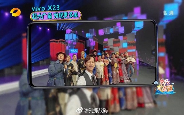 Vivo X23 Spotted in a TV Show