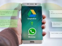 Whatsapp Backups will No Longer Count Against Google Drive Storage Quotas