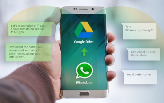 Whatsapp Backups willNo Longer Count Against Google Drive Storage Quotas
