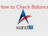Warid Balance Check Code 2018