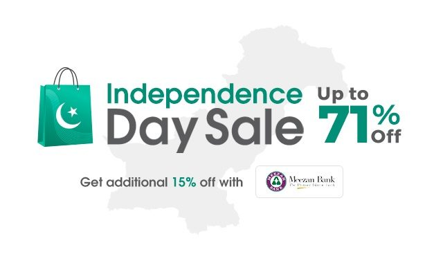 Daraz Independence Day Sale