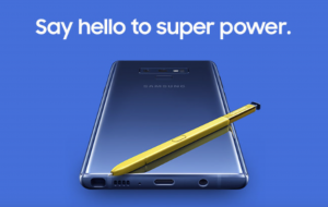 Official Image of Galaxy Note 9
