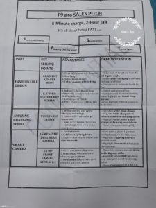 Oppo F9 Pro Specs Spotted in Leaked Sales Pitch