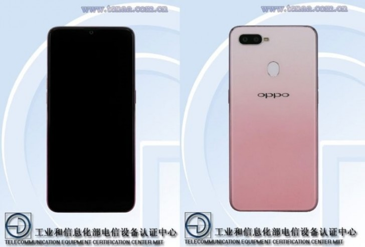 Pink OPPO F9