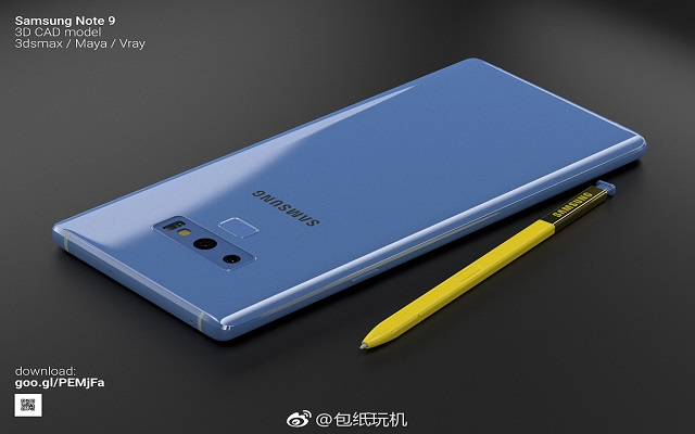 Samsung Leaks Official Image of Galaxy Note 9 Accidentally