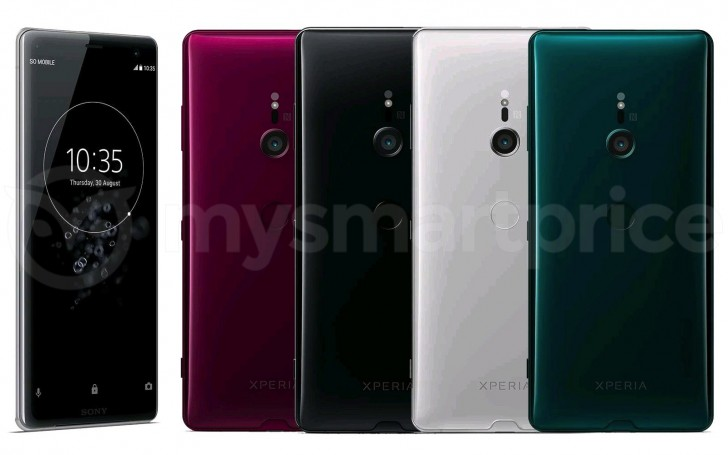 sony xperia xz3 color