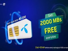 Get 200 MBs Free Everyday with Telenor New SIM Offer