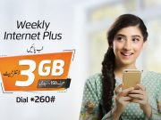 Ufone Weekly Internet Plus Offer