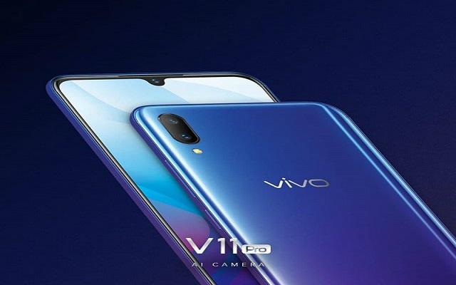 Vivo V11 Leaked Images & Specifications Confirms In-Display Fingerprint Reader
