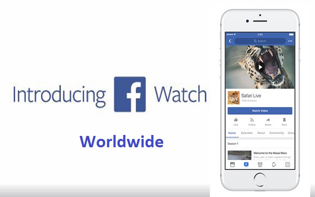 Facebook Watch Video Service Rolls Out Globally