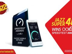 Jazz Wins Pakistan's Fastest Mobile Network Speedtest Award From Ookla
