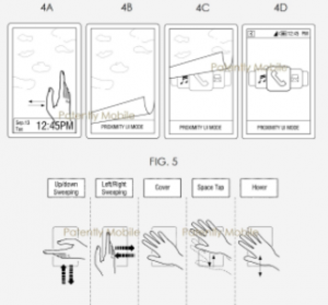 Samsung's In-Air Gestures patent