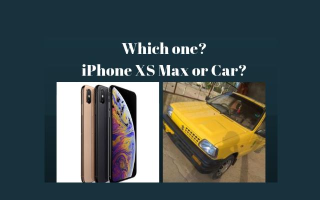 iPhone XS Max Price in Pakistan