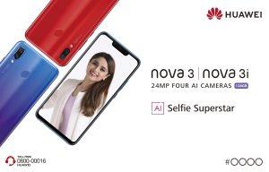 Huawei Unveils the True AI Selfie Superstar in Pakistan