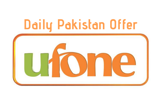 Photo of Ufone Daily Pakistan Offer