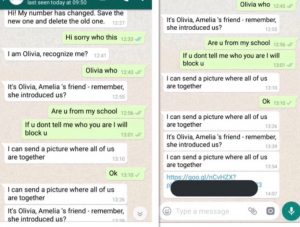 Olivia Porn Message on WhatsApp Targets Children