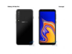Samsung Galaxy A9 star pro with Four cameras