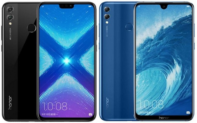 Honor 8XandHonor 8X Max Goes Official with Glass-Finish Black Panel