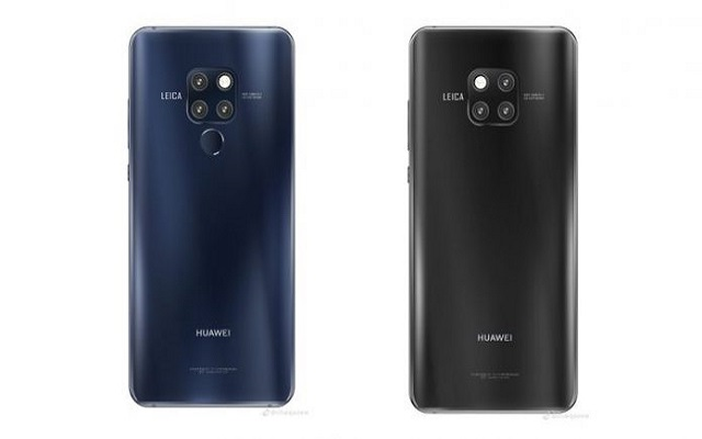 Huawei Mate 20 Pro Spotted with Wild Fingerprint Scanner