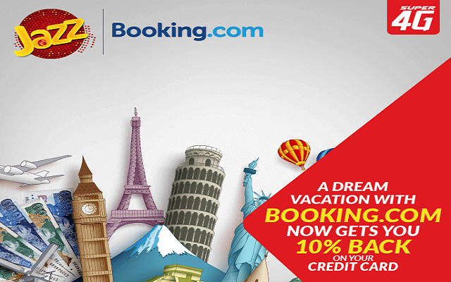 Jazz Offer on Booking.com.