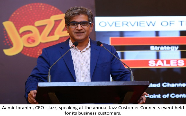 """Jazz Celebrates its Valued Corporate Customers at """"Customer Connects"""""""