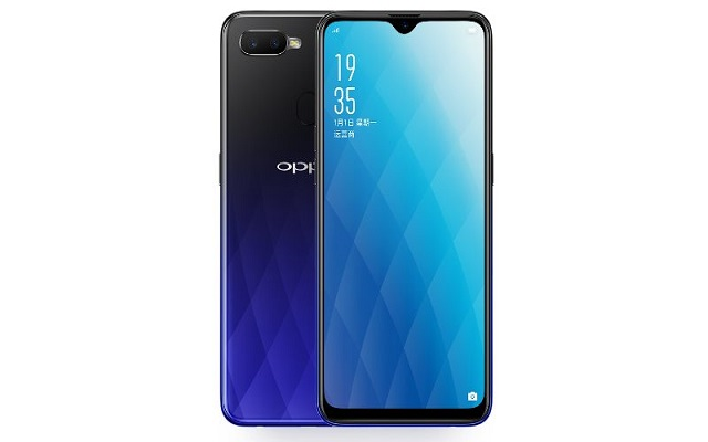 Oppo A7X Launches With Waterdrop Notch