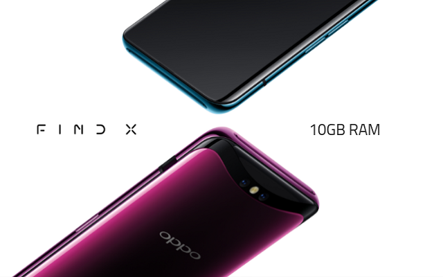 Oppo Find X New Edition to Come with 10GB of RAM