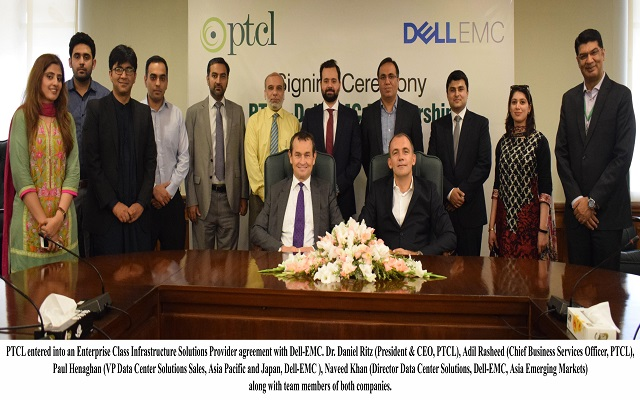 PTCL Enters into Enterprise Class Infrastructure Solutions Provider Agreement with Dell EMC