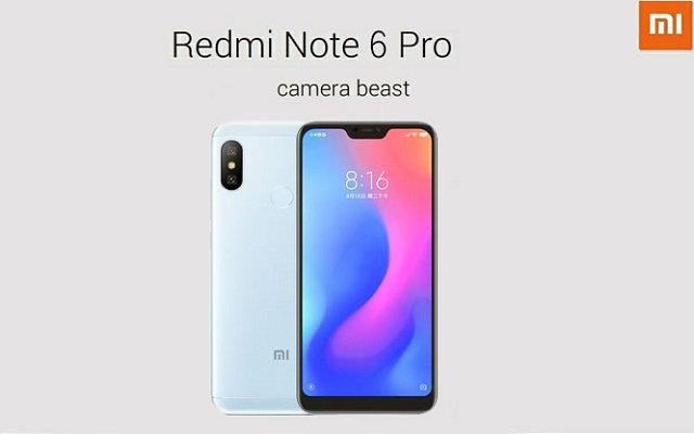 Xiaomi Redmi Note 6 Pro Debuts With 4 Cameras & 4000mAh Battery