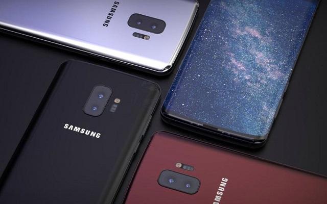 Samsung Smartphone with Four Camera