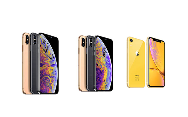 iPhone XS Max vs. iPhone XS vs. iPhone XR