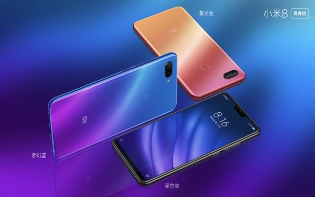 Xiaomi Mi 8 Pro & Mi 8 Lite With Amazing Color Gradients Launched