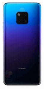 Huawei Mate 20 Pro Renders Show a Triple Cam Setup