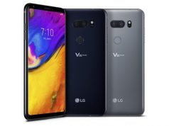 LG V40 ThinQ Official Images shows Triple Camera & fingerprint resistant rear