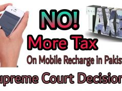 Mobile Tax in Pakistan