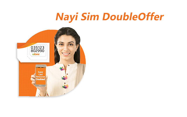 Ufone Nayi Sim Double Offer