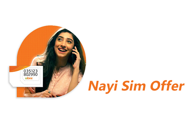 Ufone Nayi Sim Offer