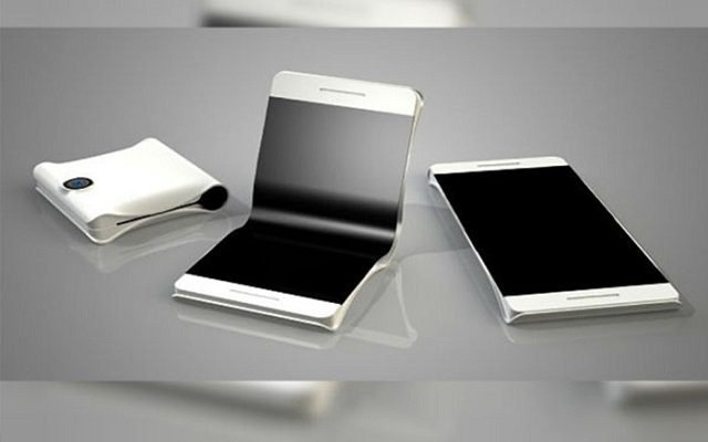 First Foldable Phone