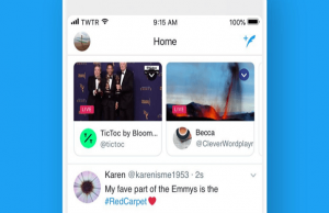 Now Watch Twitter Live Broadcasts at the top of your timeline