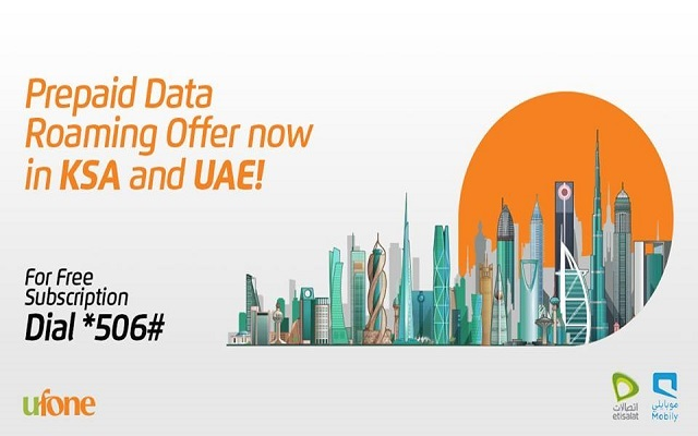 Pakistani Telecom Company Leads by Launching Prepaid Data Roaming Offer in UAE and Saudi Arabia