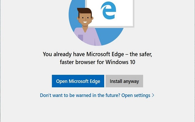 Microsoft is Warning Windows 10 Users not to Install Chrome or Firefox
