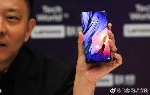 Lenovo Z5 Pro with an In-Screen Fingerprint Scanner to be Unveiled on October 11