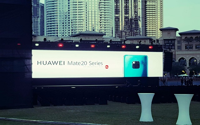 The King of Smartphones HUAWEI Mate 20 Series Launched in Dubai