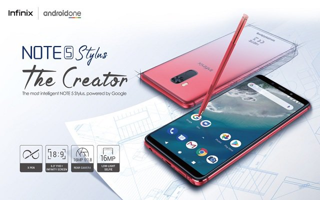 Infinix Launches the Most Intelligent Smartphone NOTE 5 Stylus