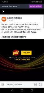 Jazz is Now Official Partner For POCOPHONE
