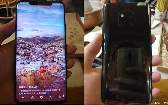 Black Huawei Mate 20 Pro Spotted in Leaked Hands-On Images