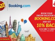 Jazz Offers Discounts with Booking.com